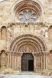 Romanesque church of Santo Domingo in Soria Stock Photo