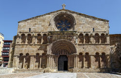Romanesque church of Santo Domingo in Soria, Spain Royalty Free Stock Image