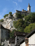 Romanesque church and shrines atop the citadel, Royalty Free Stock Photography