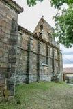 Romanesque church Stock Images