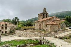Romanesque church Stock Photo