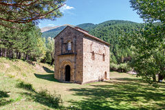 Romanesque Church in Spain Stock Photography