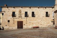 Romanesque church Spain. Romanesque church in Zamora Spain ruins Stock Images