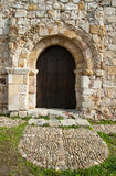 Romanesque church Spain. Romanesque church in Zamora Spain ruins Stock Photography