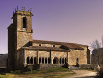 Romanesque Church of St. Julian Stock Photography