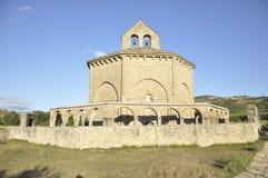 Romanesque church Stock Photos