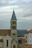 Romanesque church tower Royalty Free Stock Photography