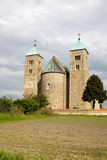 The Romanesque church in Tum, Poland Royalty Free Stock Image
