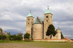 The Romanesque church in Tum, Poland Stock Photo