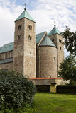 The Romanesque church in Tum village in Poland Stock Photo
