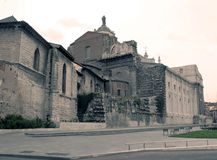 Romanesque church in Valladolid Stock Images