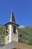 Romanesque church in the valley of Aran, Spain Royalty Free Stock Images