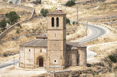 Romanesque church Royalty Free Stock Image