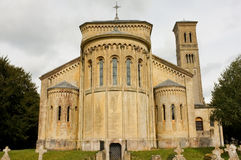 Romanesque Church, Wiltshire, England royalty free stock photos