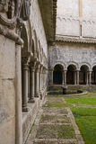The Romanesque Cloister Royalty Free Stock Images