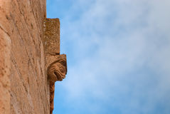 Romanesque corbel Stock Images