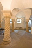 Romanesque crypt in Deventer, Netherlands Stock Photo