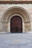 Romanesque door Stock Photo