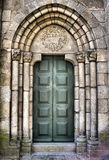 Romanesque door Stock Image