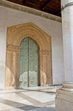 The Romanesque door of Monreale Cathedral Stock Photography