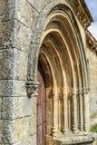 Romanesque door Stock Images