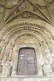 Romanesque facade Stock Image