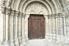 Romanesque front Royalty Free Stock Photos