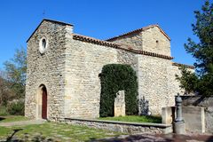 A Romanesque Hermitage, Sant Esteve Old Church Royalty Free Stock Image