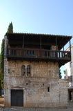 Romanesque house Stock Image