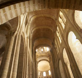 Romanesque interior Royalty Free Stock Photos