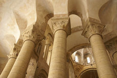 Romanesque interior Royalty Free Stock Photography