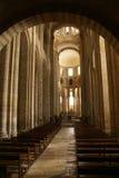 Romanesque interior Royalty Free Stock Photography