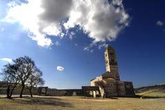 Romanesque-Kirche Stockbilder