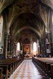 Romanesque monastery brixen Royalty Free Stock Image