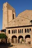 Romanesque monastery of La Porta Ferrada in Sant Feliu de Guixol Stock Images