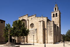 Free Romanesque Monastery Of Sant Cugat Stock Photo - 36518650