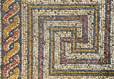 Romanesque mosaic Stock Image