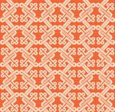 Romanesque pattern. The complex pattern. Vector image Stock Image