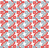 Romanesque pattern. The complex pattern. Vector image Royalty Free Stock Images