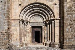 Romanesque portal Royalty Free Stock Photos