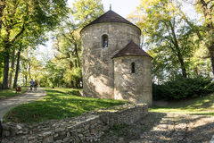 Romanesque rotunda royalty free stock images