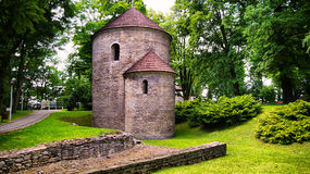 Romanesque Rotunda On Castle Hill In Cieszyn, Poland Royalty Free Stock Photography