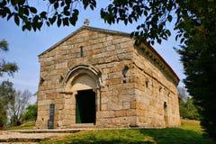 Romanesque Sao Miguel church Stock Image