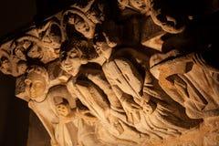 Romanesque sculptures Royalty Free Stock Photo