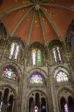 Romanesque St. Gereon church stock photos