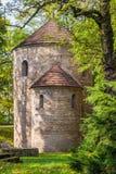Romanesque St Nicholas Rotunda stock image