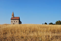 Romanesque style church Royalty Free Stock Image