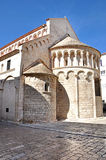 Romanesque style church. Zadar, Croatia Stock Photo