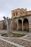 Romanesque temple royalty free stock photography