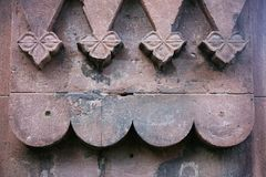 Romanesque Tiles Royalty Free Stock Images